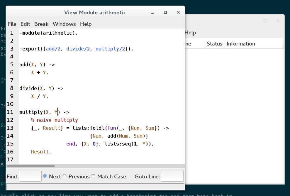 screenshot of debugger source view